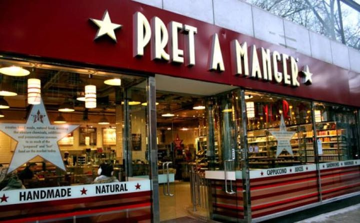 Rescued PRET food THURSDAY!
