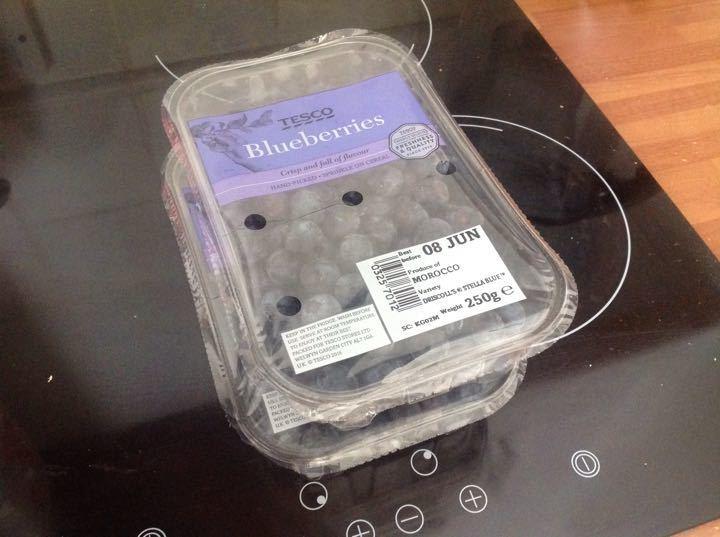 Blueberries from Alliance Tesco