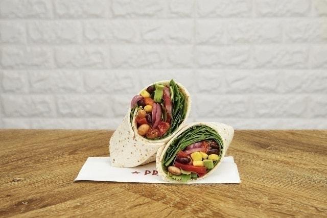 Pret Vegan Chilli Wrap