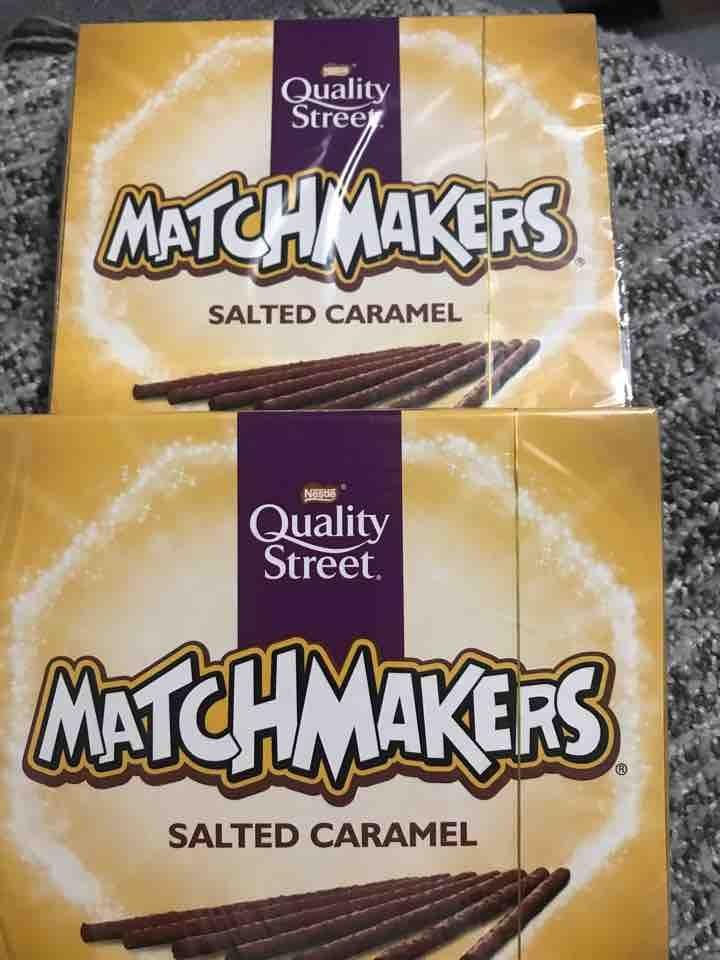 Salted caramel matchmakers