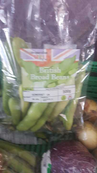 British broad beans 500g x 5 bags avaiable x