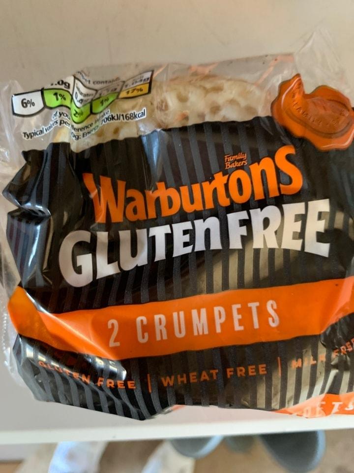 Warnurtons GF 2 crumpets