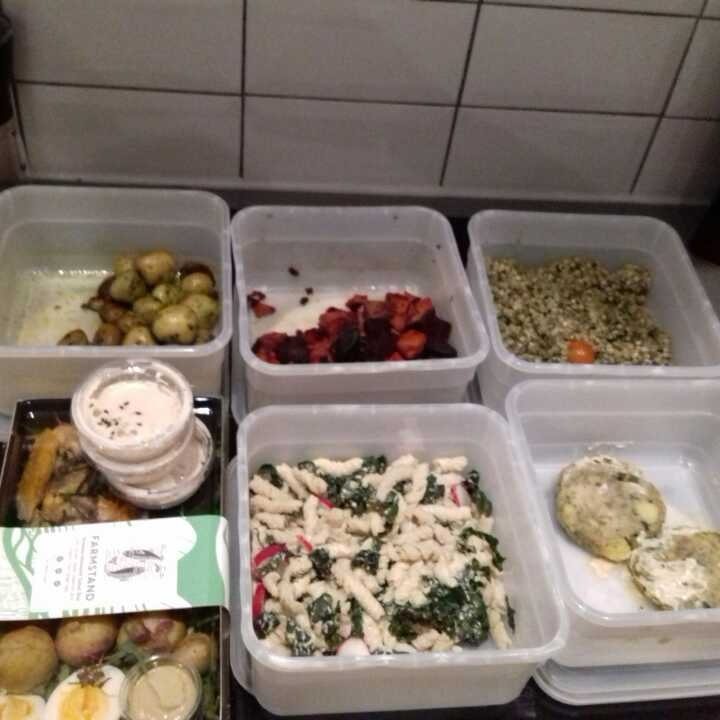 Delicious food from Farmstand