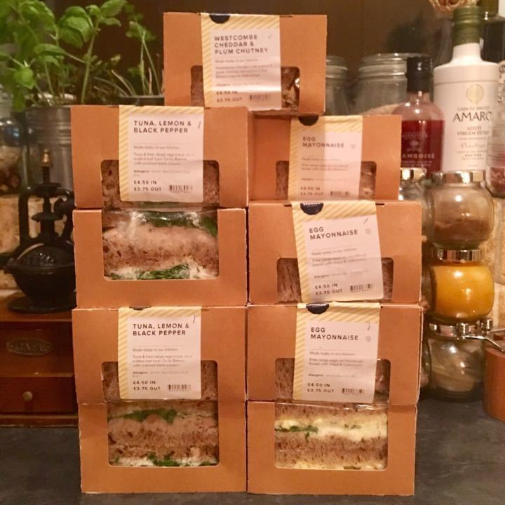 🥪Selection of Sandwiches from Sourced Market - UPDATED 🥪