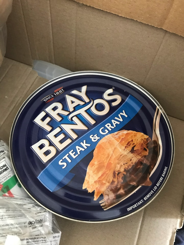 Fray Bentos pie. - OLIO