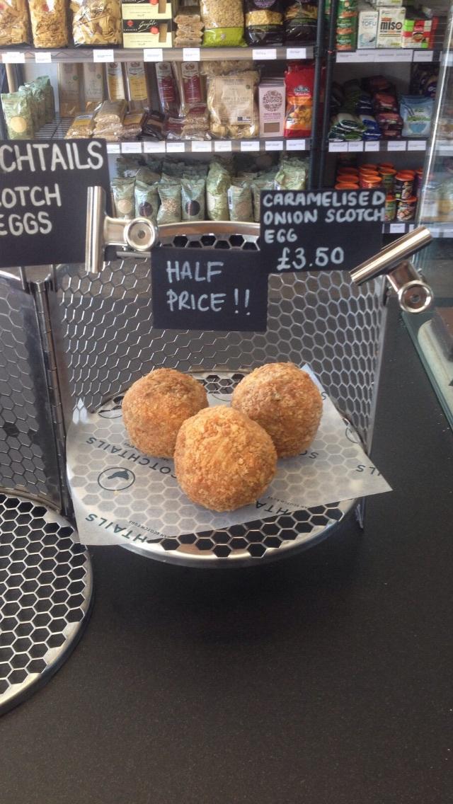 HALF PRICE - scotch eggs