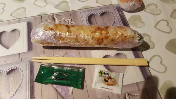 Sushi (May contain nuts/fish)