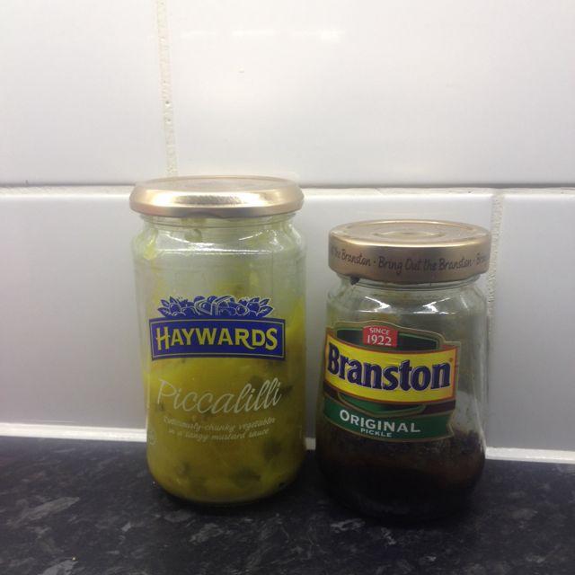 Branson and piccalilli pickle