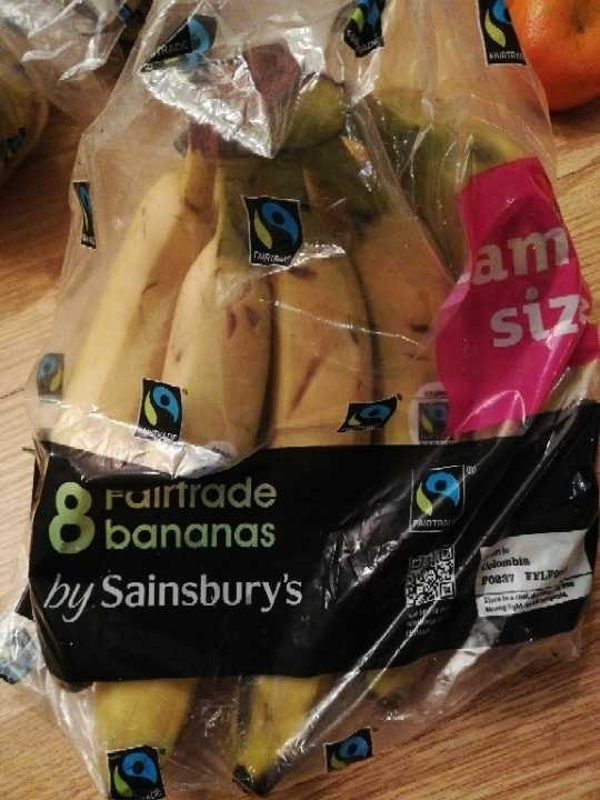 Pack 8 Fair trade Bananas