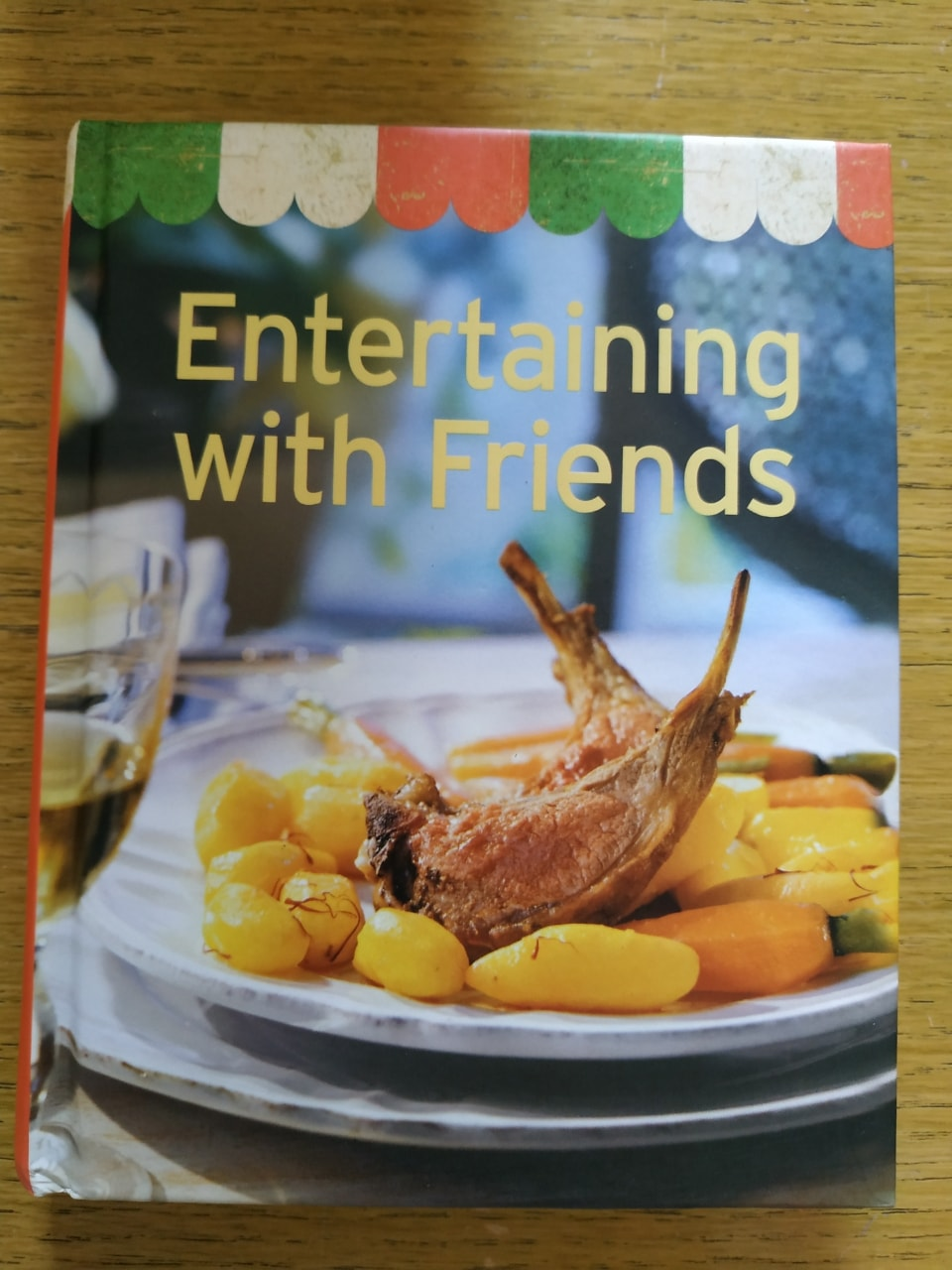 Book - Entertaining with friends