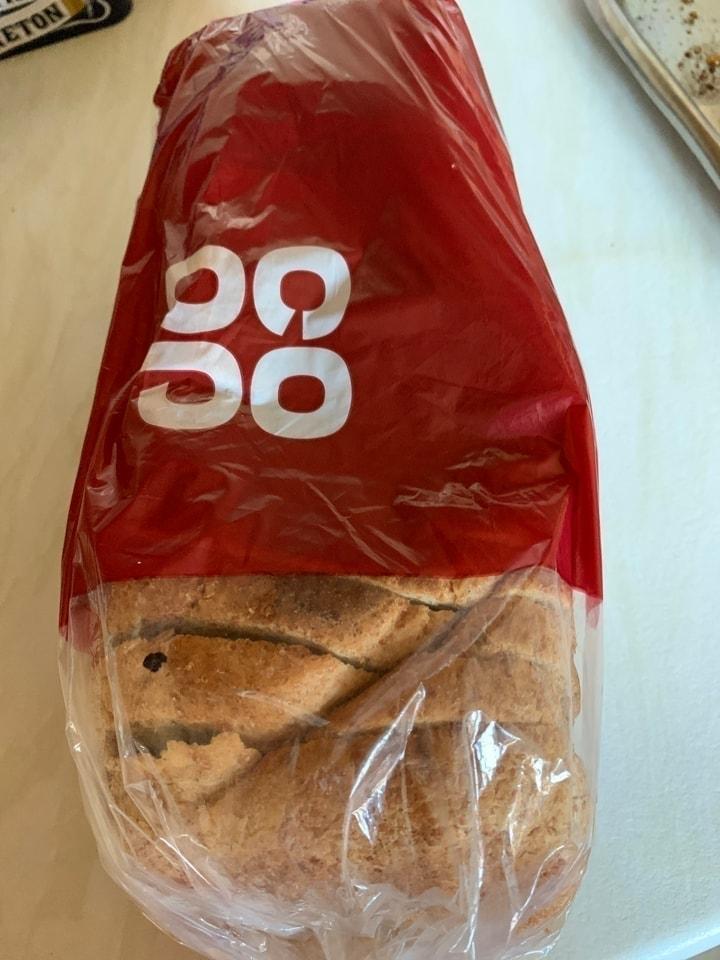 Whole meal sliced loaf
