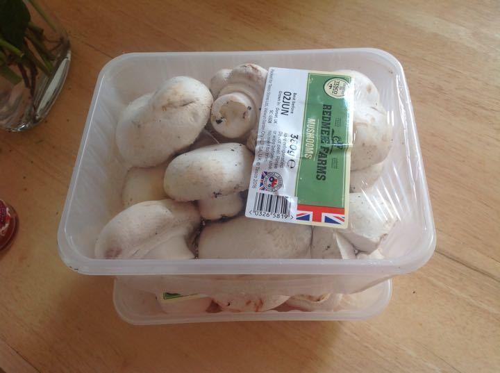 Mushrooms by Tesco