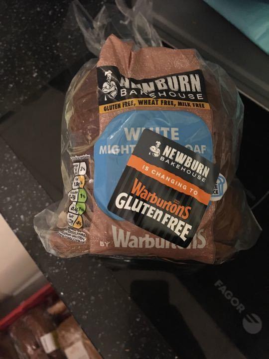 Gluten free white sliced bread