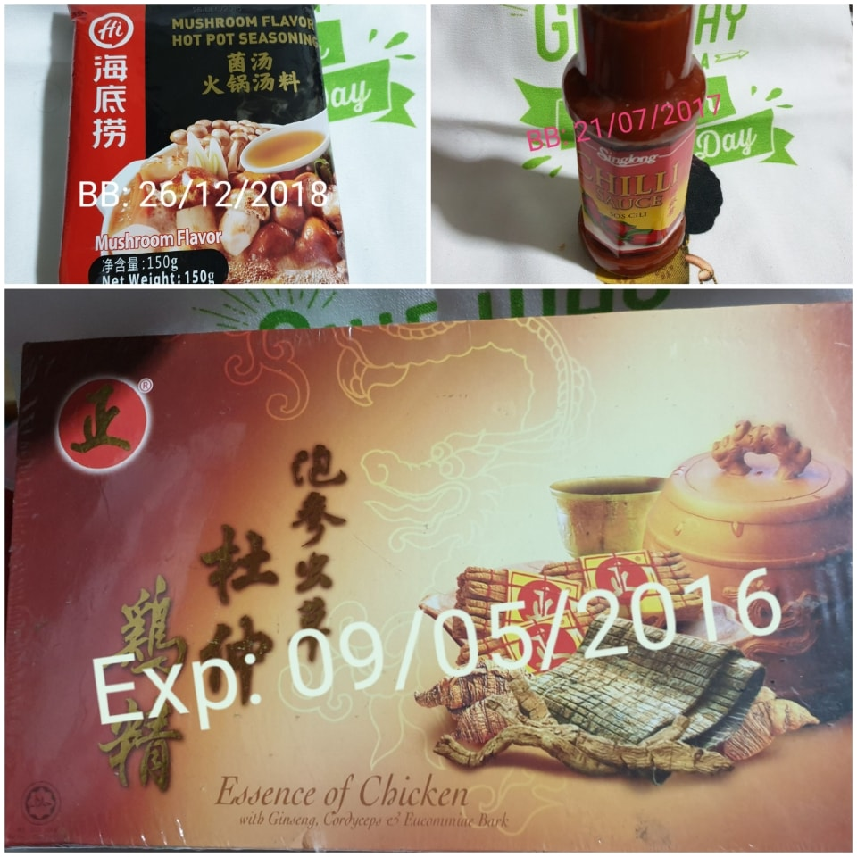 Expired food i