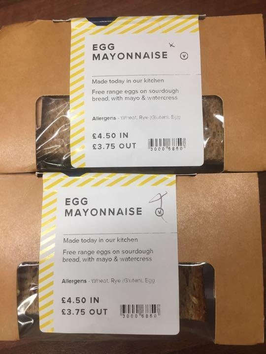 Egg mayo sandwiches 🥪