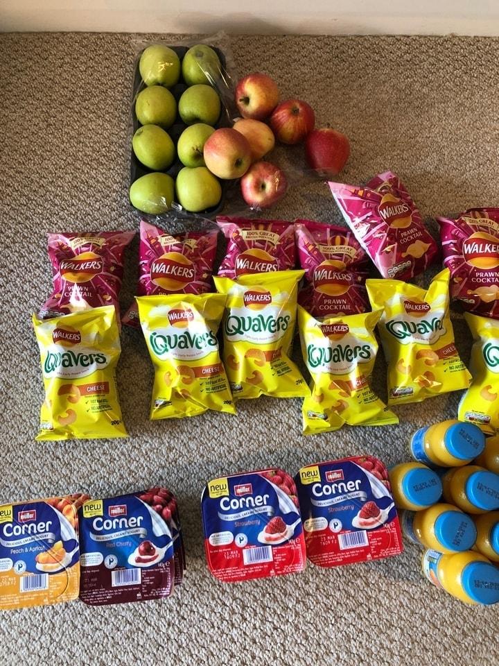 Kids snack/meal pack #cook4kids