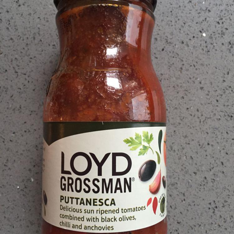 Lloyd grossman pasta sauce