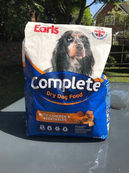 Aldi earls complete dry dog food