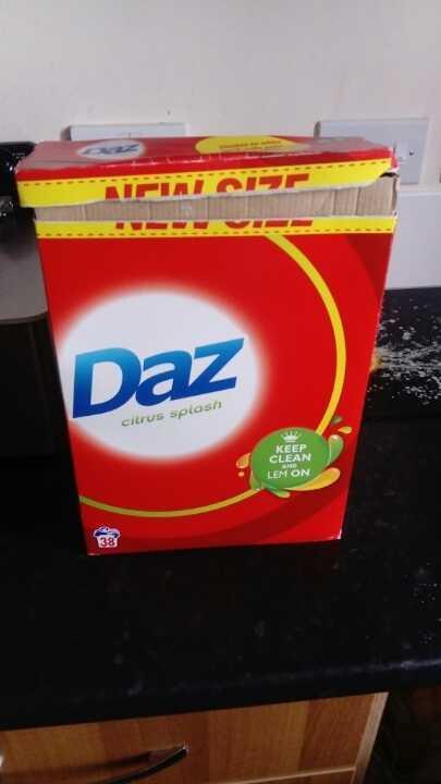 half a box of daz