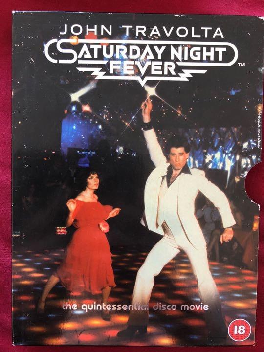 John Travolta SATURDAY NIGHT FEVER +18 dvd