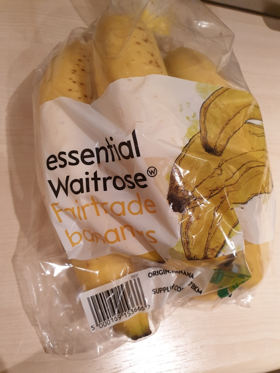Fairtrade Bananas x3