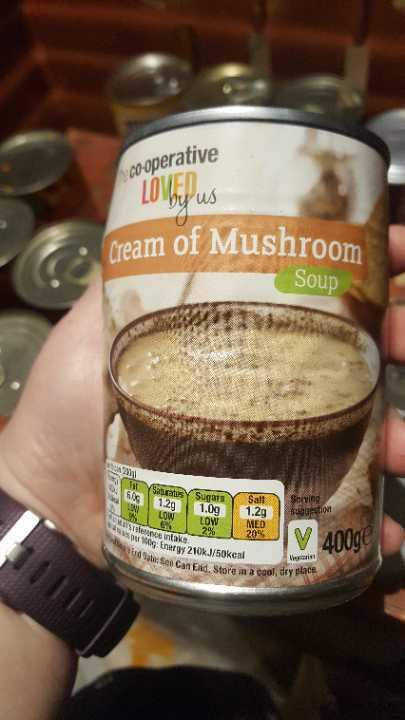 Cream of Mushroon soup