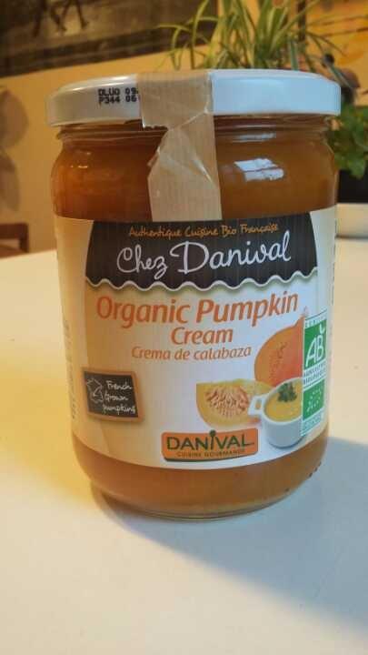 Organic pumpkin cream from real foods