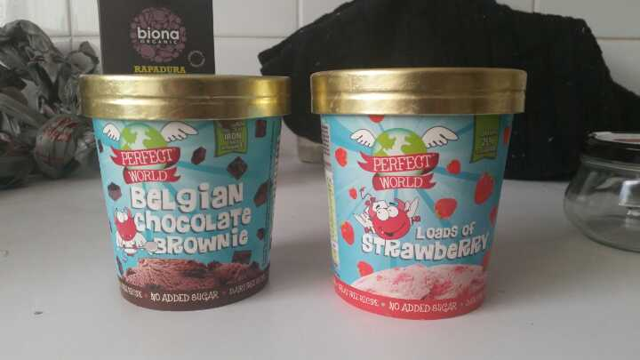 Dairy and sugar free ice cream