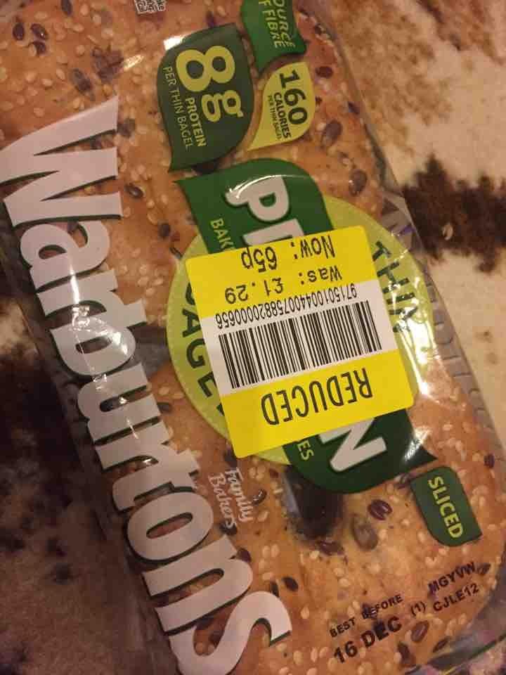 Protein bagels