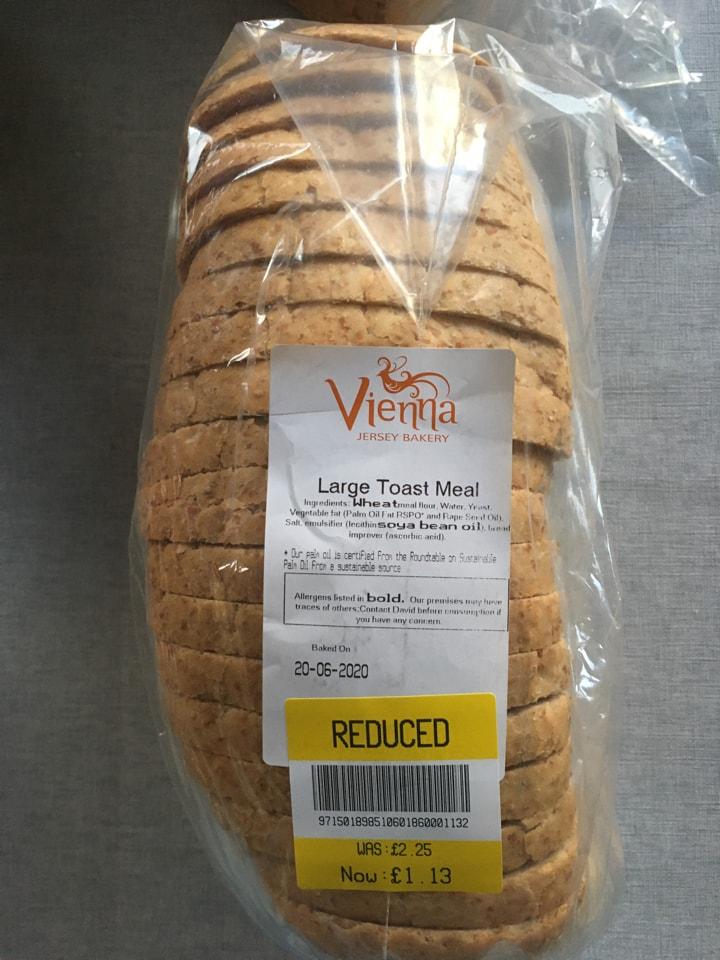 Large toast meal Loaf bread 🍞