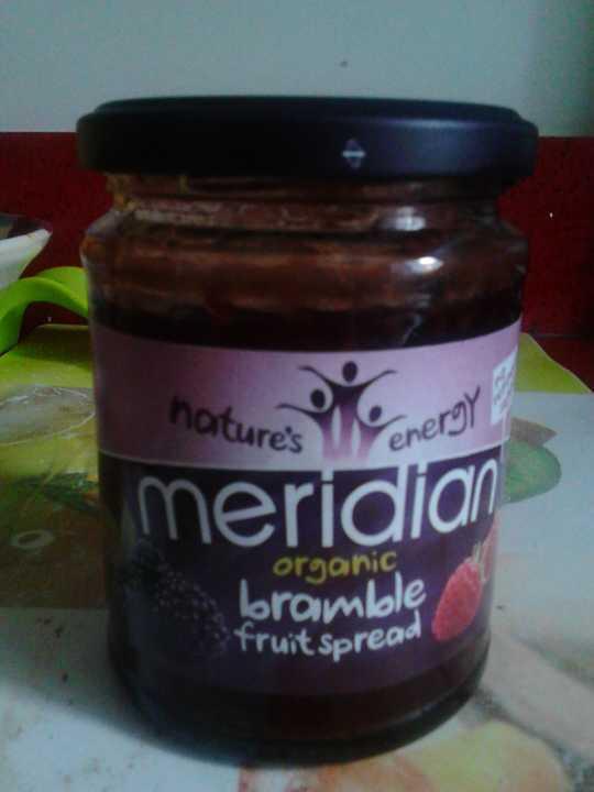 meridian organic bramble jam