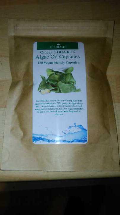 Omega 3 Dharma Rich Algae Oil Capsules