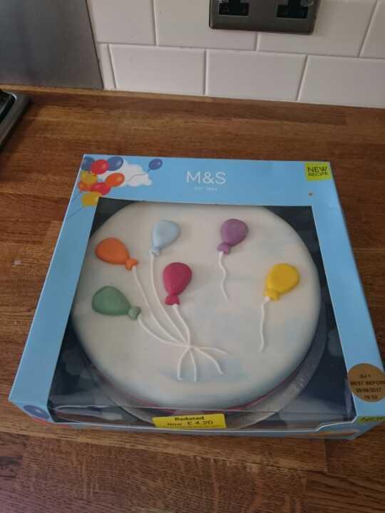 MS celebration cake large BB 29/06/2017
