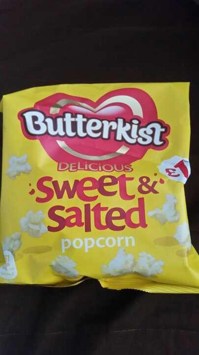 Sweet & salted popcorn from Temple Stores