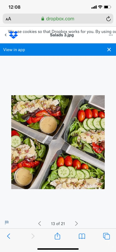 Crayfish and Avo salad