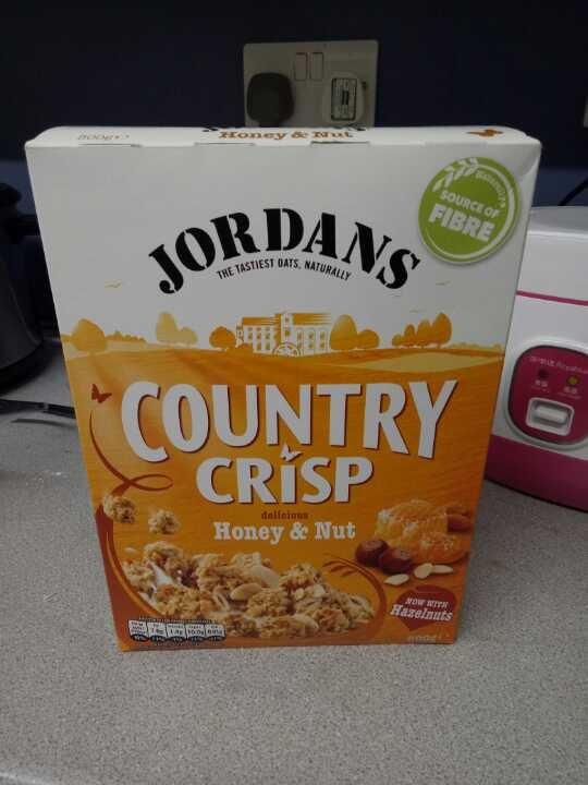Jordans Country Crisp Honey and Nut