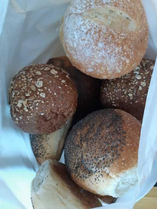 Round breads