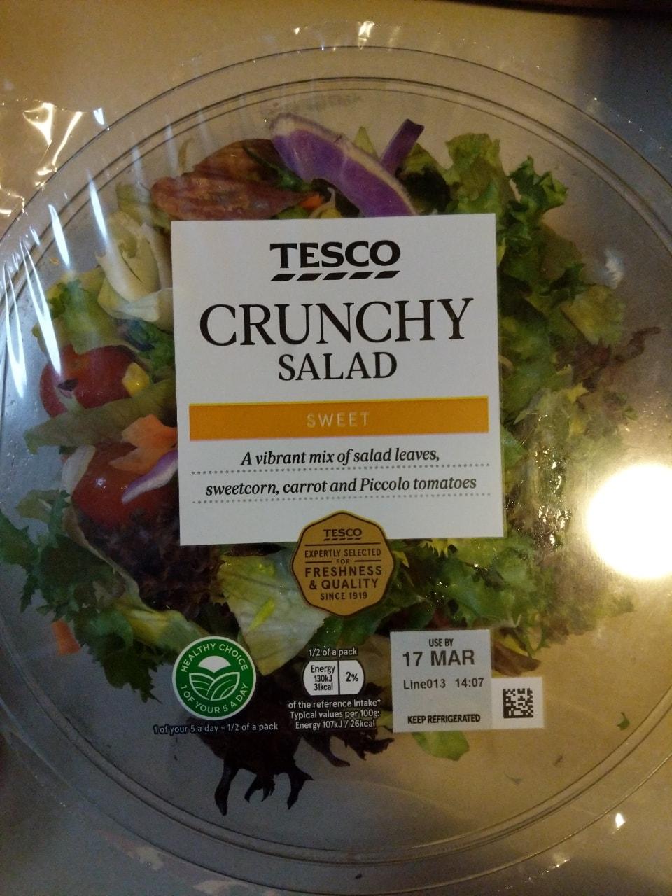 Large crunchy salad