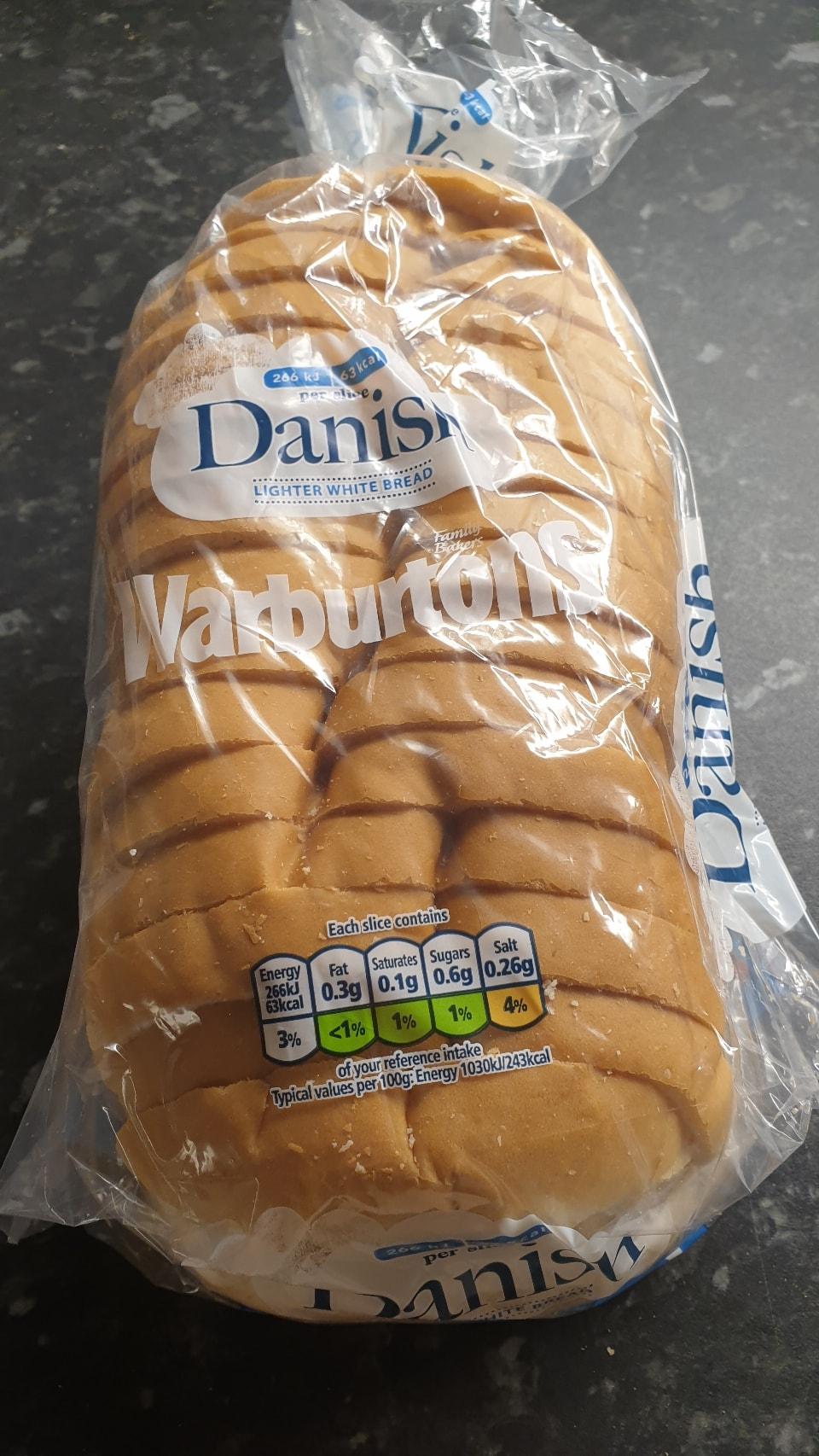 Lighter white bread