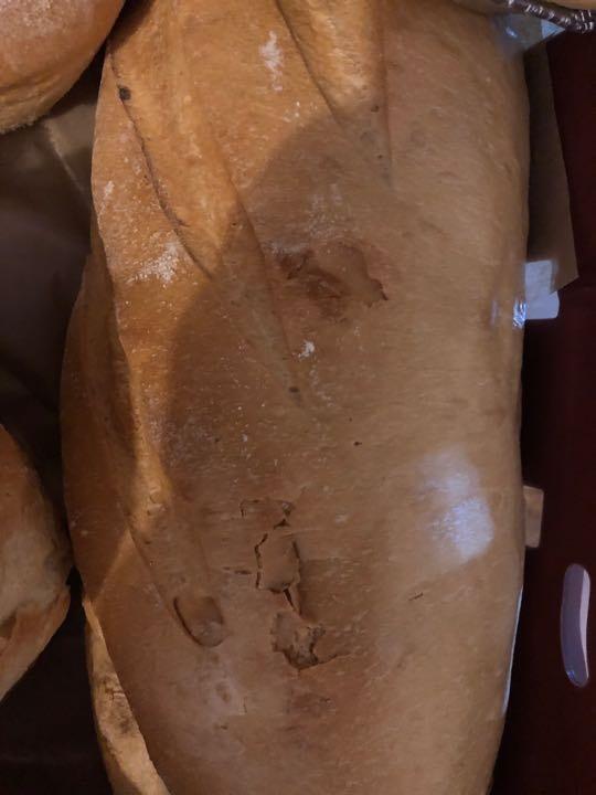 Large white bread