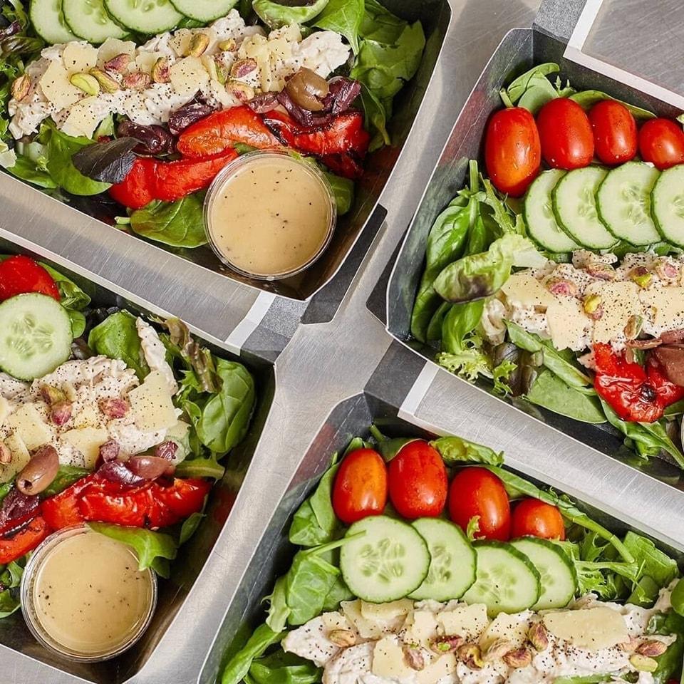 Tuna Niscoise salad box