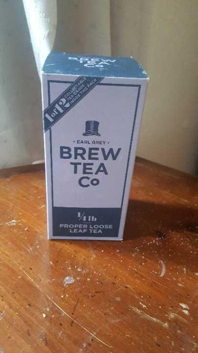 Brew Tea Company Earl Grey loose leaf tea