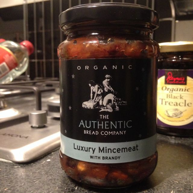 Organic LUXURY mincemeat with brandy