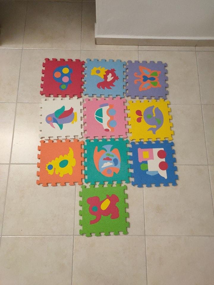 Rubber tiles (10pcs)
