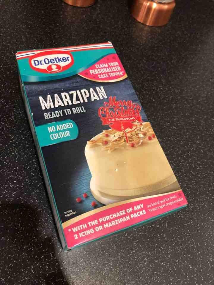 Marzipan - unopened box