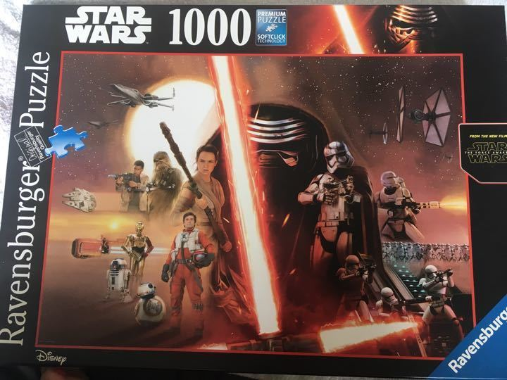 1000 piece Star Wars puzzle