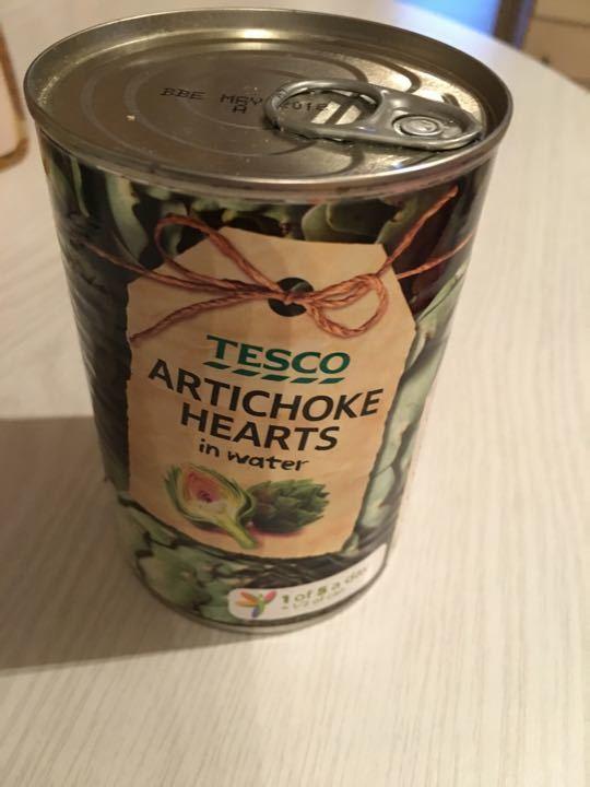 Tesco Artichoke Hearts in water