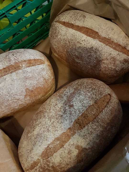 Large wholemeal bread
