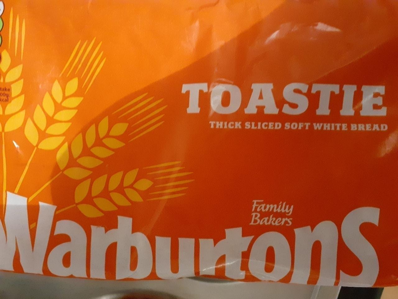 Toastie warburtons