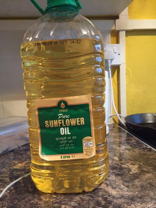 Almost full 5litre Pure Sunflower Oil